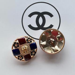 CHANEL - マルチカラー ボタン 2.2センチ