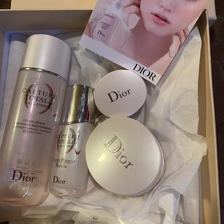 ディオール(Dior)のDior カプチュールトータル スキンケア セット ディオール(化粧水/ローション)