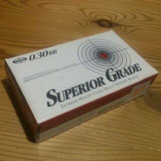 残1箱【未使用】超精密BB弾 東京マルイ スペリオルグレード 0.3g BB弾(その他)