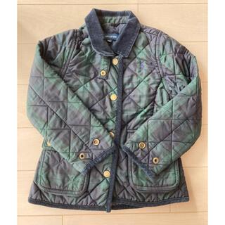 Ralph Lauren - ラルフローレン キルティング ジャケット 110cm ポニー刺繍 ロゴ 美品