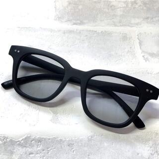 バイカーシェード マット/ライトブグレー ウエリントン サングラス ボストン眼鏡