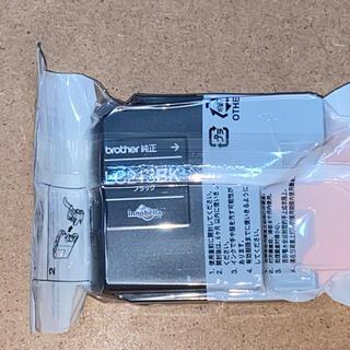 ブラザー(brother)のbrother 純正インクカートリッジ ブラザー LC213BK ブラック(PC周辺機器)