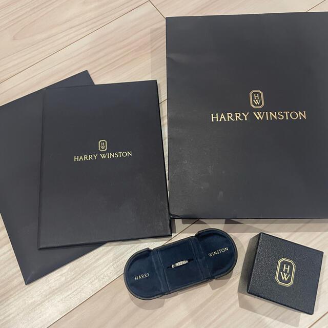 HARRY WINSTON(ハリーウィンストン)のハリーウィンストン 6号 PT950 トラフィック アクセント バンド リング  レディースのアクセサリー(リング(指輪))の商品写真