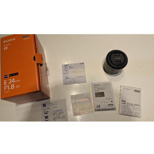 SONY(ソニー)のSONY SEL24F18Z ツァイスレンズ スマホ/家電/カメラのカメラ(レンズ(単焦点))の商品写真