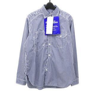 JUNYA WATANABE COMME des GARCONS - ジュンヤワタナベ マン 21SS ステッチワークデザインチェックシャツ
