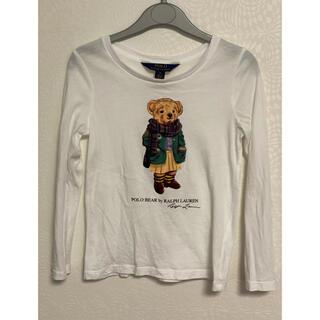 ポロラルフローレン(POLO RALPH LAUREN)の着用1回 ラルフローレン ポロベア Tシャツ サイズ5(Tシャツ/カットソー)