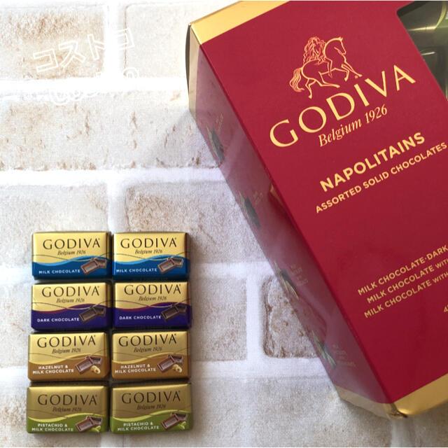 コストコ(コストコ)の♡大人気♡コストコ GODIVA ナポリタンチョコレート 8個 お試し 食品/飲料/酒の食品(菓子/デザート)の商品写真