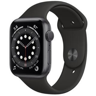 Apple Watch - 【新品未開封】 Apple Watch 6 44mm GPS カバー&フィルム付