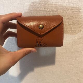 スヌーピー(SNOOPY)のスヌーピー三つ折り財布(財布)