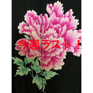 ヨウジヤマモト(Yohji Yamamoto)のyohjiyamamoto 20ss 花と少年 牡丹プリントシャツ(シャツ)