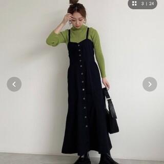 FREE'S MART - バックリボンマーメイドデニムジャンパースカート