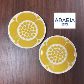 アラビア(ARABIA)の美品 アラビア スンヌンタイ 16cm プレート(食器)