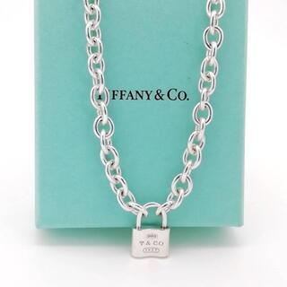 Tiffany & Co. - 極希少 ティファニー ドーナツ リンク 1837 ロック チョーカー XC34