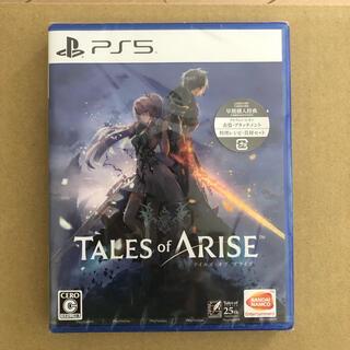 プレイステーション(PlayStation)のPS5 Tales of ARISE テイルズ オブ アライズ(家庭用ゲームソフト)