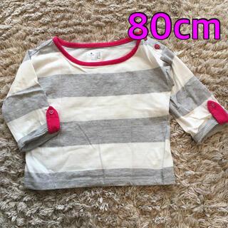 ベビーギャップ(babyGAP)のカットソー 80cm  ロンT  babyGap 長袖Tシャツ(シャツ/カットソー)