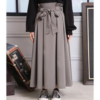 ワンアフターアナザーナイスクラップ(one after another NICE CLAUP)のリボン付きスカート(ロングスカート)