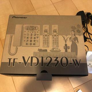 パイオニア(Pioneer)のPioneer パイオニア コードレス留守番 TF-VD1230 美品(その他)