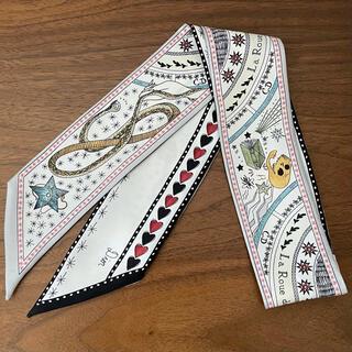 Christian Dior - 美品 ディオール ミッツァ 運命の輪 シルクツイル ツイリー