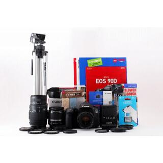 1023 長期保証 Canon EOS 90D レンズ3本 限定特典付き!(デジタル一眼)