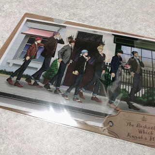 新品黒子のバスケ クリアファイル(クリアファイル)