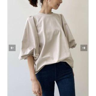 アパルトモンドゥーズィエムクラス(L'Appartement DEUXIEME CLASSE)のベージュL'Appartement Gather Long sleeve Tee(Tシャツ/カットソー(七分/長袖))