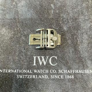 【美品】IWC純正Dバックル 新型ダブルフォールディングタイプ 尾錠幅18mm