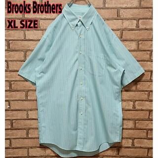 ブルックスブラザース(Brooks Brothers)のBrooks Brothers マルチカラー ストライプ 半袖 シャツ(シャツ)