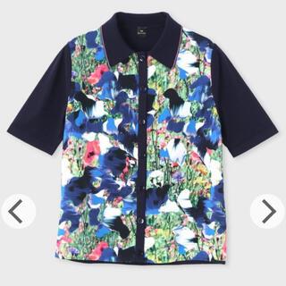 ポールスミス(Paul Smith)の34100円→新品ポールスミスウーヴンパネル ウィズ マーブルフローラル ニット(ニット/セーター)