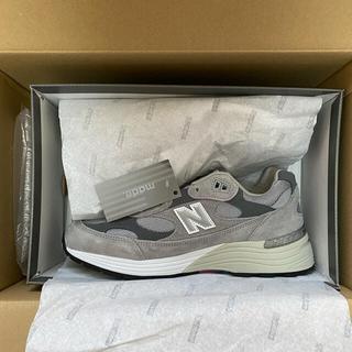 ニューバランス(New Balance)のNew Balance M992GR GRAY US9 27cm(スニーカー)