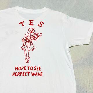 Ron Herman - ほぼ未使用!TES エンドレスサマー アロハガール刺繍Tシャツ M