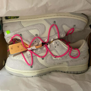 OFF-WHITE - OFF-WHITE × NIKE DUNK LOW 17