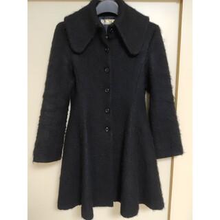 ATELIER BOZ - 中古美品 日本製 ATELIER BOZ シャギーウールコート 黒