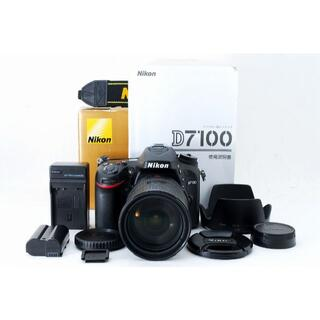 ニコン(Nikon)の1325 Nikon D7100 18-200mm 高倍率ズームレンズキット(デジタル一眼)