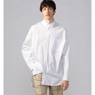 TOMORROWLAND - オーバーサイズ ボタンダウンシャツ THOMAS MASON