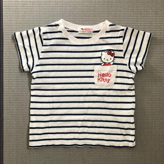 ハローキティ(ハローキティ)のHELLOKITTY  Tシャツ 120cm 女の子(Tシャツ/カットソー)