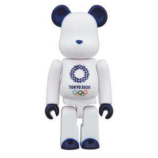 メディコムトイ(MEDICOM TOY)のベアブリック 100% (東京2020オリンピックエンブレム)(キャラクターグッズ)