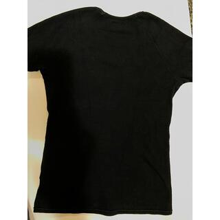 ハリウッドランチマーケット(HOLLYWOOD RANCH MARKET)のハリウッドランチマーケット✴︎Tシャツ✴︎BLACK✴︎サイズ3✴︎ロゴ刺繍(Tシャツ(半袖/袖なし))