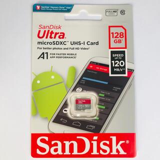 SanDisk - Sandisk 新型120M switch利用可 マイクロSDカード 128GB