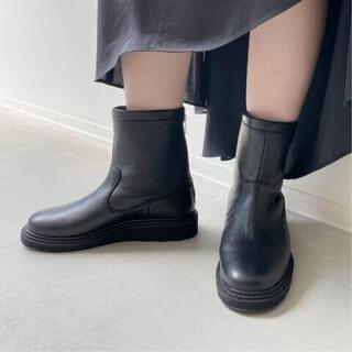 L'Appartement DEUXIEME CLASSE -  【CAMINANDO】TRECK SOLE BACK ZIP BOOTS◆37