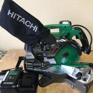 HiKOKI(日立工機) マルチボルト 36V 充電式卓上スライド丸ノコ 美品(工具/メンテナンス)