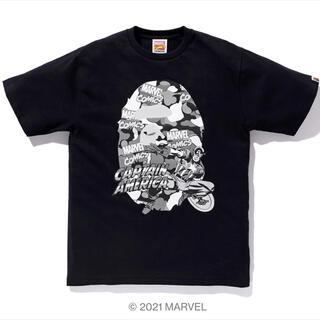 A BATHING APE - 定価以下2XL新品!BAPE X MARVEL キャプテン・アメリカEXTシャツ