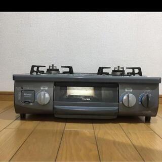 Rinnai - リンナイ コンパクトガステーブル  KGM33NDGR ホース、ソケット付き