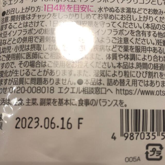 大塚製薬(オオツカセイヤク)の大塚製薬 エクエル パウチ 120粒入り(約30日分)×6袋セット 食品/飲料/酒の健康食品(その他)の商品写真