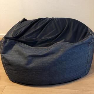 ムジルシリョウヒン(MUJI (無印良品))の無印良品 体にフィットするソファ ビーズクッション(ビーズソファ/クッションソファ)
