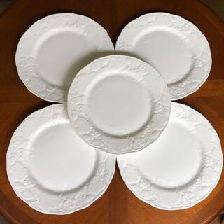 ウェッジウッド(WEDGWOOD)の【美品】ウェッジウッド★ストロベリー&バイン★ディナー皿 5枚(食器)