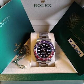 ROLEX - 新作ロレックス GMTマスターII 126710BLRO オイスターブレス 新品