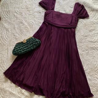ストロベリーフィールズ(STRAWBERRY-FIELDS)の美品⭐︎ストロベリーフィールド ドレス(ひざ丈ワンピース)