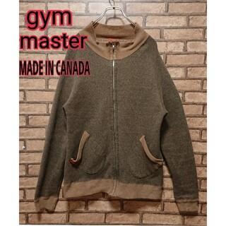 ジムマスター(GYM MASTER)のgym master ジムマスター カナダ製 メンズ ジップアップ ブルゾン(ブルゾン)