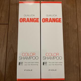 フィヨーレ(FIOLE)のクオルシア カラーシャンプー オレンジ(シャンプー)
