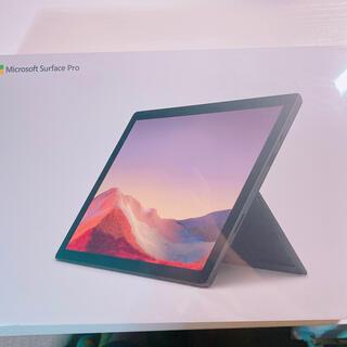 Microsoft - PUV-00027 マイクロソフト Surface Pro 7 - ブラック